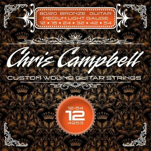3-SETS-CHRIS-CAMPBELL-CUSTOM-ACOUSTIC-GUITAR-STRINGS-4953-80-20-BRONZE-MED-LIGHT