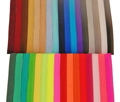 Freestyle Disco Lycra Chokers Fastened with Poppers ALL COLOURS MATT LYCRA