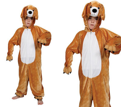 Luminosa Puppy Per Bambini Costume Bambini Animale Cane Vestito Età 3/13-mostra Il Titolo Originale