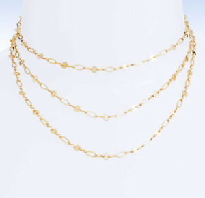 BAUBLEBAR Gold-Tone APHRODITE Layered Chain Necklace | eBay
