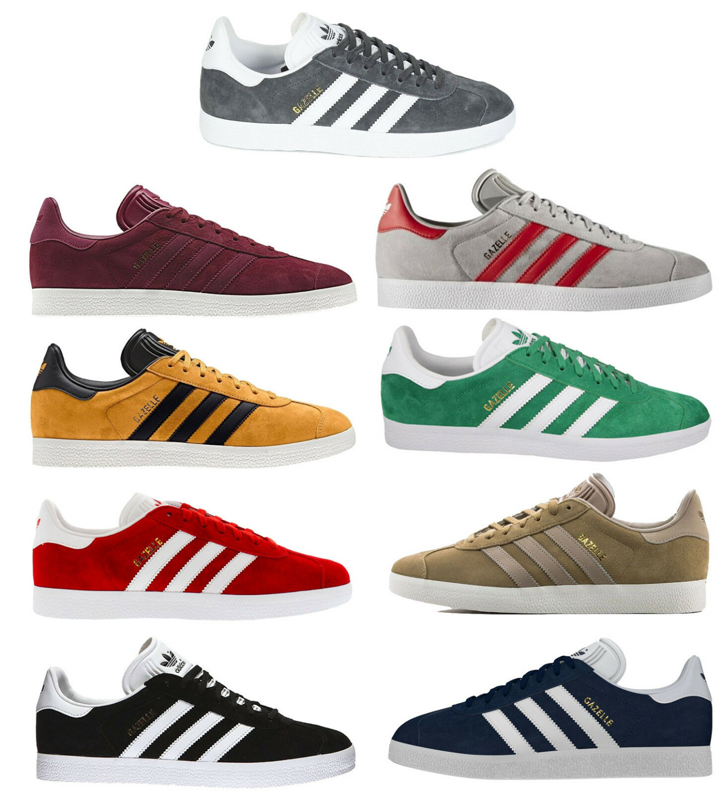Adidas sneakers men and women gazelle. golden OFFER