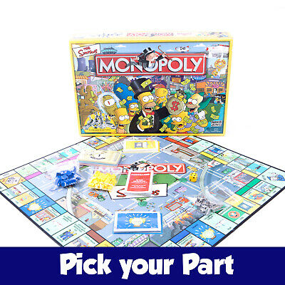 PICK YOUR PARTS Monopoly Frozen 2 II Edition Board Game SPARES REPLACEMENTS