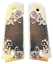 1911-fits-Colt-amp-Clones-GRIPS-Classic-Scroll-Scrimshaw-Faux-Ivory-Full-Size-1 thumbnail 1