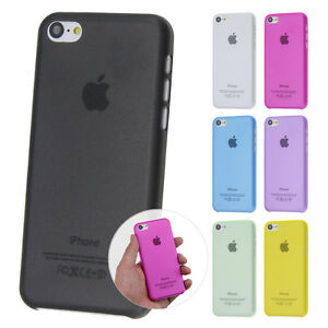 Ultra-Slim-Case-iPhone-5C-FeinMatt-Schutz-Huelle-Bumper-Skin-Cover-Schale-Folie