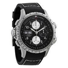 Hamilton X-Wind Black Dial Chronograph Mens Watch H77616333