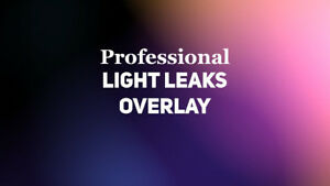 Details about 4K Light Leaks Pack For Cinematic/Weddings Video Production