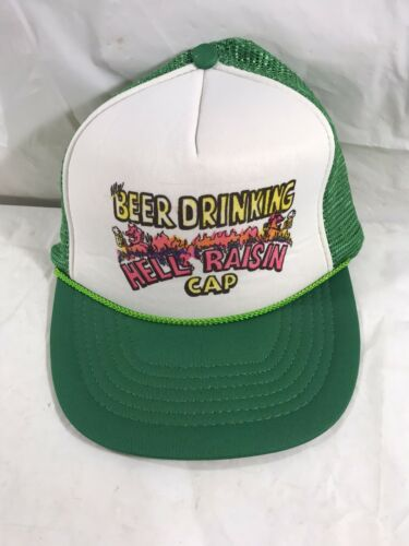 My Beer Drinking Hell Raisin Cap Hat Mesh Farm Hat