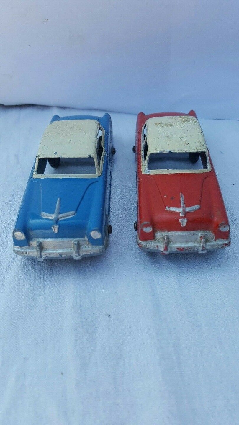 Pair If Vintage TootsieToy Cars