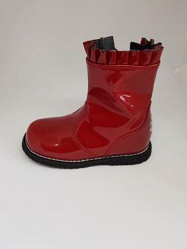 Lelli Kelly LK3312 Drôle Short Red Patent Boot