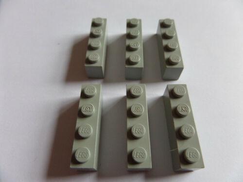6x 3010 blocchi di costruzione LEGO Base Pietre ALT 1x4 GRIGIO CHIARO LIGHT GRAY 301002