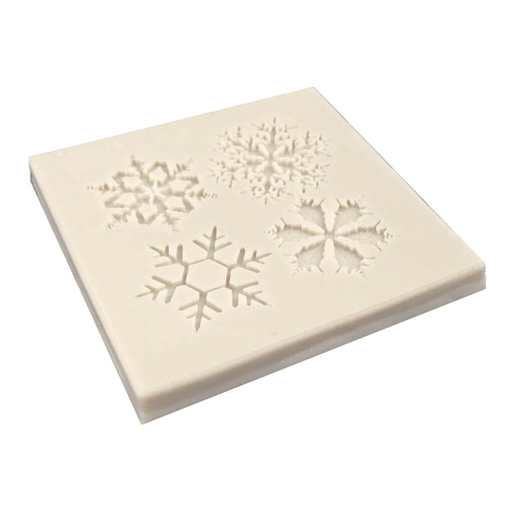 Mould Jewelry Making Silicone Mold Epoxy Snowflake Craft Resin DIY Gift Tool