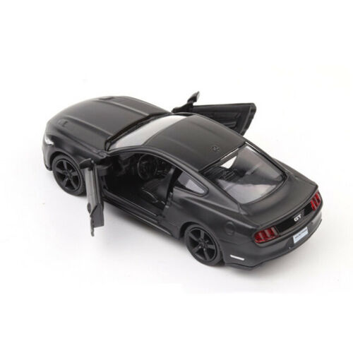 1:36 Ford Mustang 2015 Car Model Alloy Diecast Toy Vehicle Black Gift Kids Boys