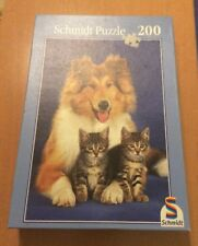 Kitty in the Garden 200 pc Jigsaw Puzzle