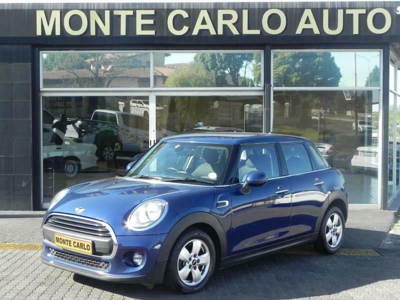 2016 MINI Cooper One 5dr Hatch, Blue Metallic with 109000km available now!