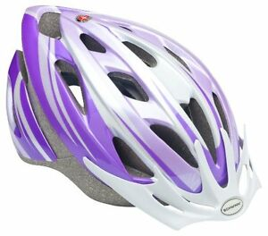 Sports-Outdoor-Bicycle-Youth-Adult-Cycling-Protect-Helmet-Safe-Ride-Purple-White