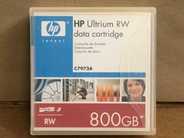 Genuine OEM HP LTO3 400 800GB Yellow Tape Cartridge C7973A ✅❤✅❤ NEW