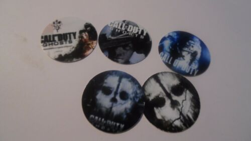 Pre Cut One Inch Bottle Cap Image VIDEO GAME CALL OF DUTY  WHO Free Shipping