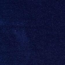 Navy Blue Velvet 100% Cotton - 2.50 Mtrs