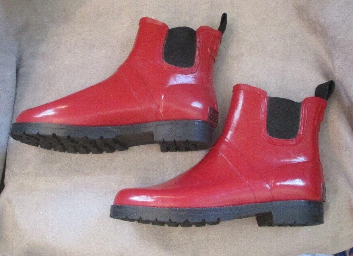 Hermosa Cole Haan Haan Haan Deportivo Rojo Resistente a la intemperie al aire libre botas talla 7  100% precio garantizado