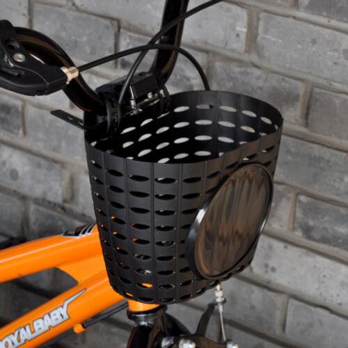 1X Bicycle Basket Detachable Front Handlebar Basket Bike Carrier Storage Holder