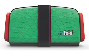 Brand New - Mifold Grab-and-Go Car Booster Seat, Lime Green - MF01-US/GRN