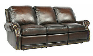 Image Is Loading Barcalounger Premier II 3 Seat Power Reclining Sofa