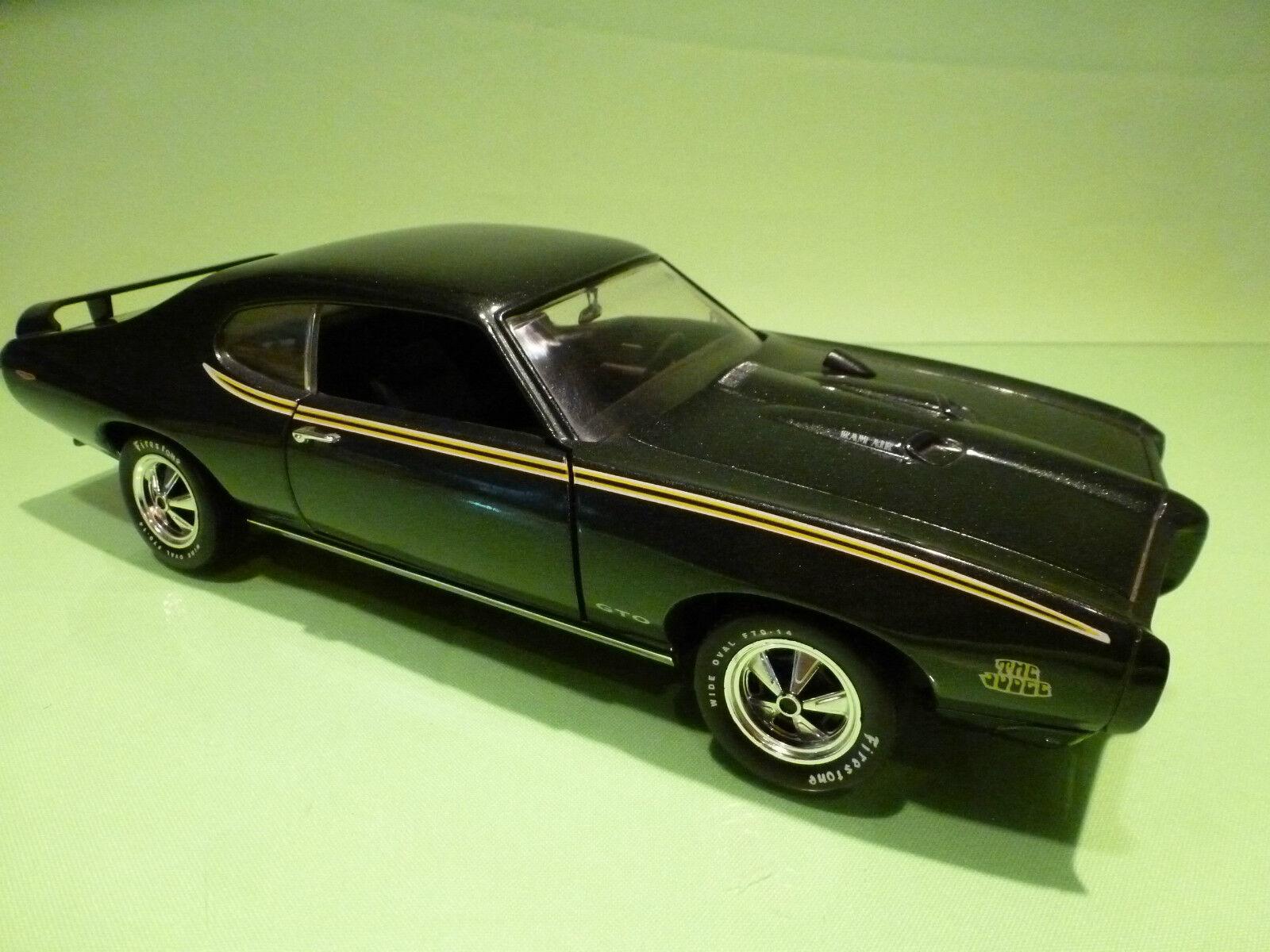 ERTL AMERICAN  MUSCLE 1494C 1494C 1494C PONTIAC GTO 1969 - 1 18  - RARE SELTEN - EXCELLENT 28e537