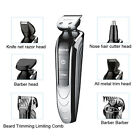 Kemei 5 in1 Waterproof Electric Hair Clipper Hair Trimmer Shaver Beard Haircut