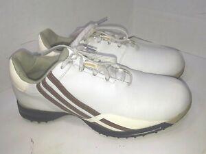 Adidas Driver Prima Golf Shoes 737164 White Strips Womens Size 7 5 Ebay