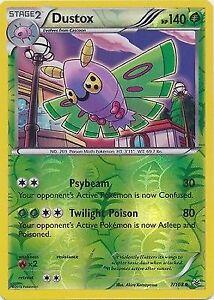 Uncommon Pokemon XY Roaring Skies M/NM English x4 Dustox 7/108