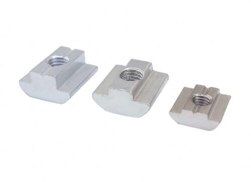 Select T-Slider Nuts M5-M8 for 20,30,40,45 Aluminium Extrusion Profile 3D//CNC