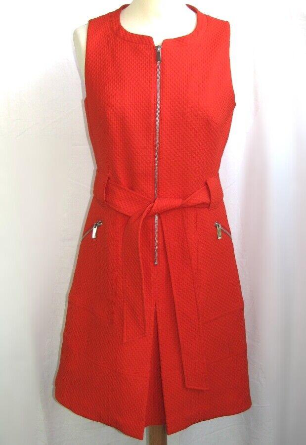 Karen Millen - Kleid Weiblich ohne Ärmel Orange T 10 Fr - wie Neu