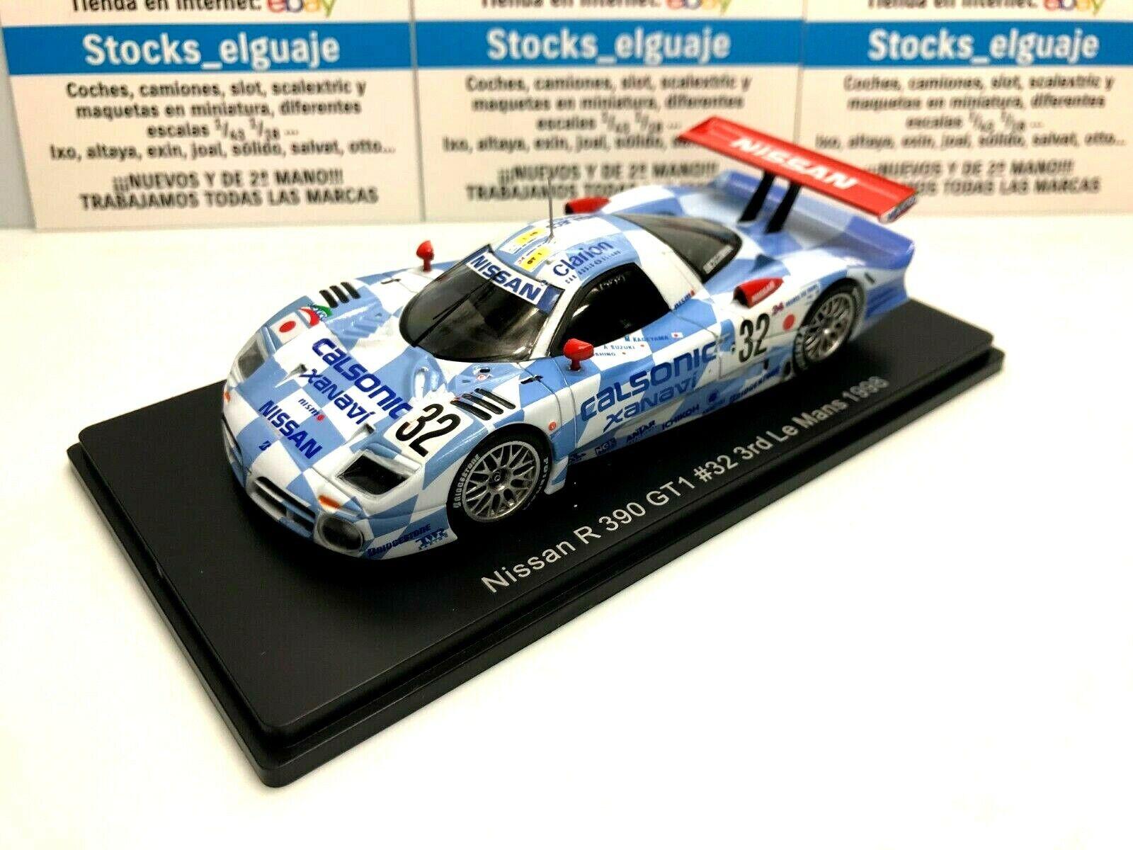 Nissan R390 GT1 #21 24h Le Mans 1997 1:43 Kyosho Modellauto