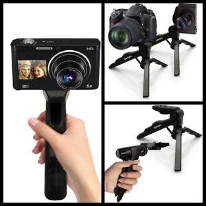 Universal Mini Small Tabletop Handheld Tripod Compact Video Digital Camera DSLR