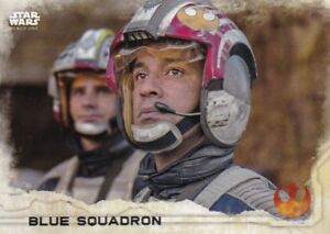2016 Topps Star Wars Rogue One Series 1 #37 Blue Squadron BLACK