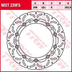Disque-de-Frein-Avant-TRW-Lucas-MST239FS-Flottant-305-BMW-K1200-LT-1999-2009