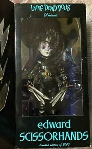 LIVING-DEAD-DOLLS-EDWARD-SCISSORHANDS-LIMITED-EDITION-MEZCO-FedEx