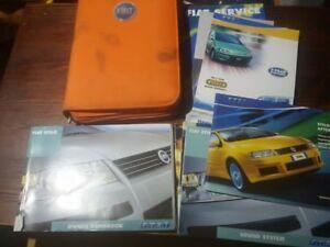 fiat stilo 2002 owner s manual book pack folder ref 904 ebay rh ebay co uk 2004 Fiat Stilo Fiat Stilo Tuning