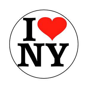 I love ny pinback button badge heart new york nyc novelty ebay image is loading i love ny pinback button badge heart new thecheapjerseys Images