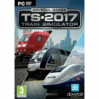 Train Simulator 2017 Pc Brand Factory Sealed Simulation Game