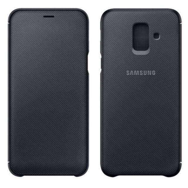 Samsung Funda EF-WA605CFEGWW Galaxy A6 Plus 2018 A605F Funda Negra Nuevo