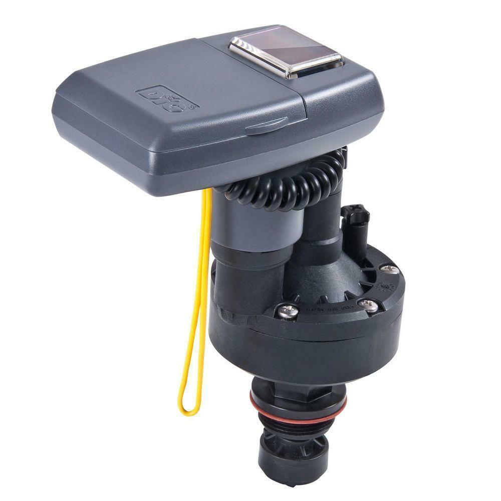 DIG Irrigation Timer Actuator Solar Powered Rain Sensor Compatible Freestanding