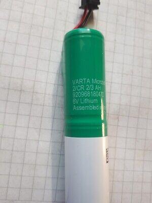 Bta Verantwortlich 6 Volt Lithium Akku Psa-modelle Letzter Stil Sos Notbatterie Varta2/cr 2/3 Ah
