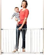 Regalo Easy Open Super Wide Walk Thru Baby / Pet Gate White, New, Free Shipping