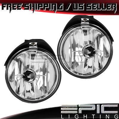 Fog Driving Lights Lamps Pair Set of 2 Kit Left /& Right for Stratus Sebring