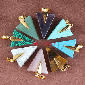Fashion-Cute-Triangle-Geometric-Pyramid-Shard-Stone-Link-Chain-Pendant-Necklace
