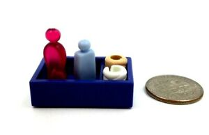 BLUE BOTTLE THREE BANDAGES Playmobil accessories SET OF FOUR MEDICAL TOOLS