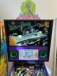 Spooky Pinball Rick and Morty Blood Sucker Edition Loaded With Extras SHIPS FREE