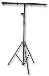 DJ-DISCO-LIGHT-LIGHTING-STAND-amp-4-LIGHT-T-BAR-2-5M-inc-carrying-bag