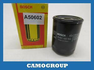 Oil Filter Bosch for Fiat Bravo Doblo Marea Punto LANCIA Lybra